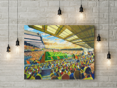 vicarage road  canvas a2 size